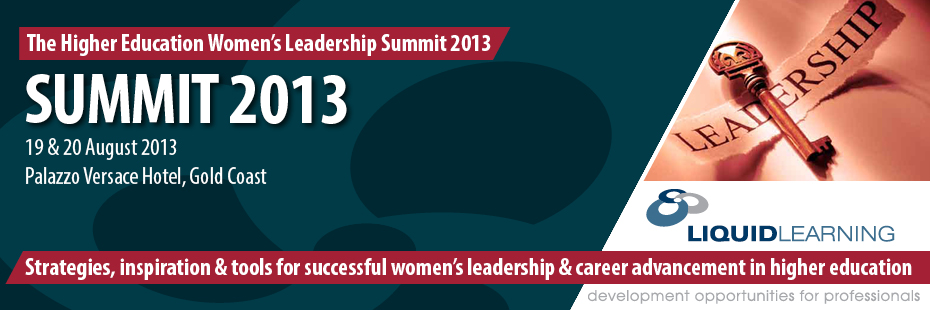 The Higher Education Women's Leadership Summit 2013